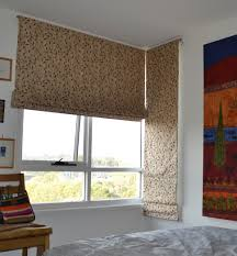 corner windows roman blinds are very suitable blinds pinterest