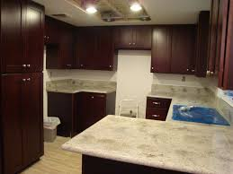 Cherry Kitchen Cabinets With Granite Countertops Kashmir White Granite Countertops Pictures Cost Pros And Cons
