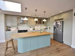 kitchens country kitchen with reclaimed wood island and quartz