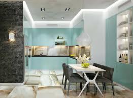 cuisine et salle à manger salle à manger design dans un petit appartement de ville moderne
