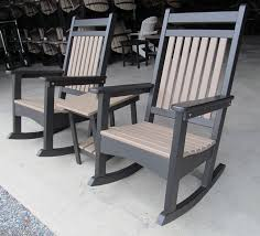 Composite Adirondack Rocking Chairs Lancaster Poly Patios Home