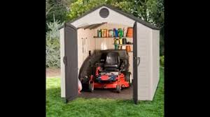 Rubbermaid Shed 7x7 Big Max by Rubbermaid Storage Sheds Form Innovativeliving Net Youtube