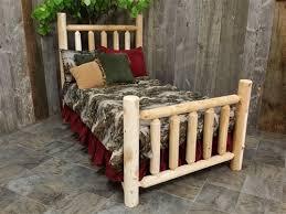 Wood Log Bed Frame Wood Log Bed Frame Cedar Log Bed Cedar Creek Furniture