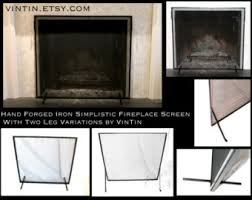 Baby Proof Fireplace Screen by Fireplace Etsy