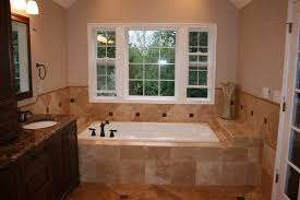 Travertine Bathrooms Noce And Cafe Light Travertine Bathroom Remodel Traditional