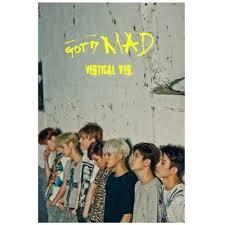 vertical photo album got7 mini album mad vertical or horizontal ver kmall24
