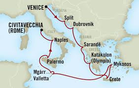 Palermo Italy Map by Times Journeys 14 Ancient Islands Cruise Conference