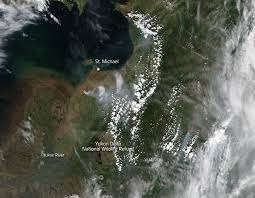 Alaska Fires Map by Fires In Southwestern Alaska Nasa