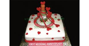 wedding anniversary cakes send wedding anniversary cake to gurugram online buy