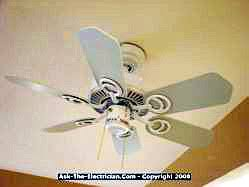 replacement ceiling fan wiring configurations