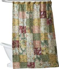 ruffled double swag shower curtain with valance u0026 tie backs white