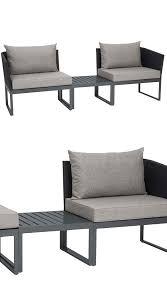 sofa weiãÿ gã nstig 3 in 1 lounge liege und sofa donna möbel modern und