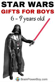 best star wars gifts for boys 6 9 years old books toys u0026 fun ideas