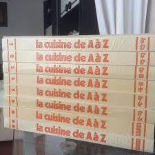 cuisiner de a à z achetez encyclopédie de la occasion annonce vente à martigues 13
