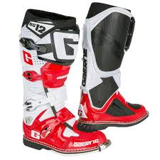 gaerne sg12 motocross boots gaerne mx boots sg 12 white red black limited edition 2017
