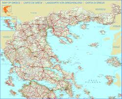 Greece On A Map Maps Page