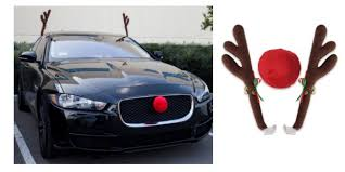 car antlers walmart rudolph nose and antlers car costume only