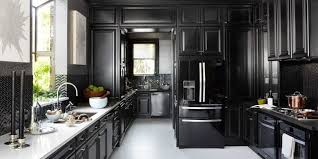 black and kitchen ideas 12 black kitchens black cabinet and backsplash ideas
