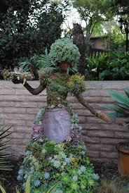 San Diego Botanical Garden Foundation Eight Diy Garden Projects Using Mannequins Diy Garden Projects