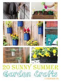 Diy Garden Crafts - 20 sunny summer garden crafts little red window