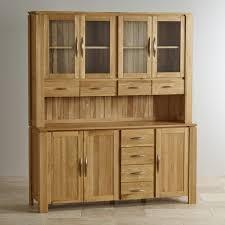 Natural Solid Wood Furniture Galway Natural Solid Oak Bookcase Living Room Furniture