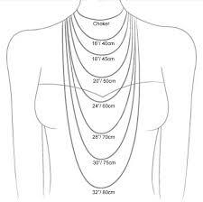 necklace with pendant length images Necklace lengths cm gallery perles et merveilles etsy pinterest jpg