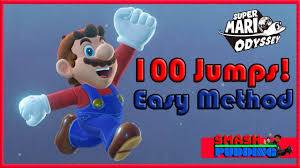 Challenge Method Mario Odyssey Jump Rope Challenge Method 100 Jumps