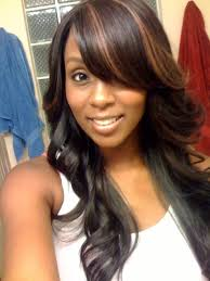 tag partial sew in straight weave hairstyles hairstyle picture magz