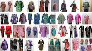 gambar model baju batik modern 99 gambar model baju batik atasan wanita terbaru 2018 desain modern