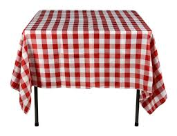 red u0026 white tablecloths 100 polyester checkerboard pattern