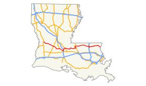 map louisiana highways interstates louisiana highway 10
