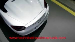 2005 2006 2007 2008 porsche boxster 987 technical service manual