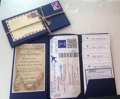 themed wedding invitations beautiful themed wedding invitations diy travel themed wedding