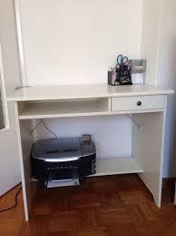 Schreibtisch 90 Cm Tief Schreibtisch 90 Cm Schreibtisch Anstelltisch Typ4000 Buche Hell