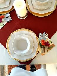thanksgiving inspiration turkey day decor and table settings second table