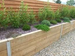 7 best raised bed images on pinterest sleeper wall raised bed