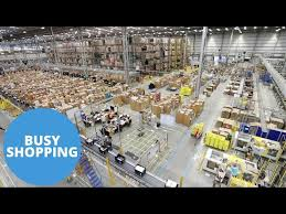 amazon warehouse black friday video look inside amazon u0027s huge warehouse ahead of the christmas