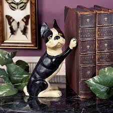 Home Decor Gozo by Iron Terrier Doorstop Bookend Set Of Two Ud953 Design Toscano