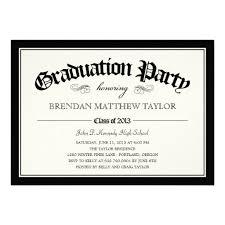 20 best graduation party invitations templates images on pinterest