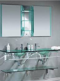 Glass Shelves For Bathrooms What To Choose For Bathroom Shelves Wooden Or Glass
