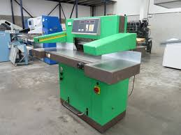 guillotines used finishing machines eba 10 550 multicut
