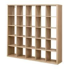 Oak Room Divider Shelves Kallax Shelving Unit Oak Effect 182x182 Cm Kallax Shelving Unit