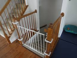 charming safety baby and childern gate for stairs using iron