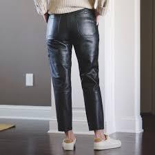 Real Leather Leggings 75 Off Zara Pants Zara Real Leather Pants S From Morgan U0027s