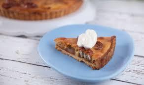 caramel banana custard pie recipe everyday gourmet with justine