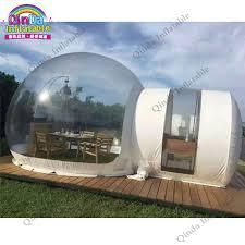tende yurta 4 m di diametro gonfiabile trasparente tenda bolla 0 9mm pvc