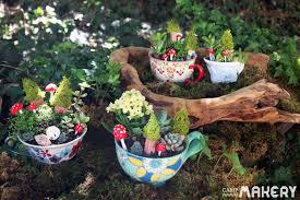 create a miniature teacup garden c makery