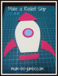 rocket ship blast off kids craft activity mum bo jumbo