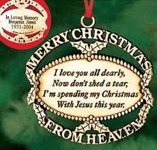 personalized heaven ornament harriet