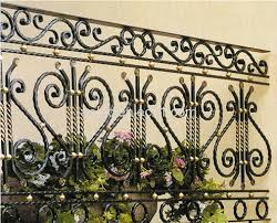 fence ornamental fence guardrail garden fence iron fence wrought